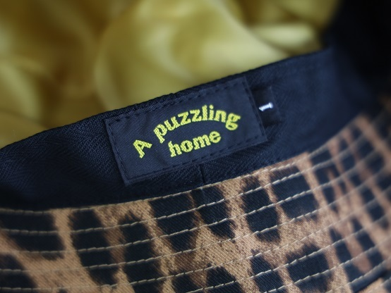 "A puzzling homeより\""MODS CAP\""\""BUCKET HAT\""のご紹介です!!_d0160378_20404229.jpg"