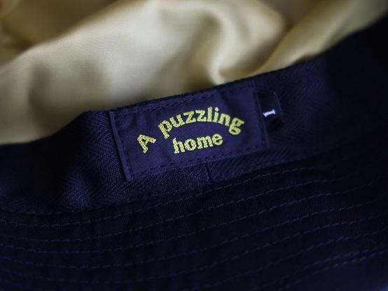 "A puzzling homeより\""MODS CAP\""\""BUCKET HAT\""のご紹介です!!_d0160378_20424239.jpg"