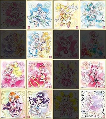 【開封レビュー】プリキュア色紙ART2(11個目~15個目)_f0205396_18032381.jpg