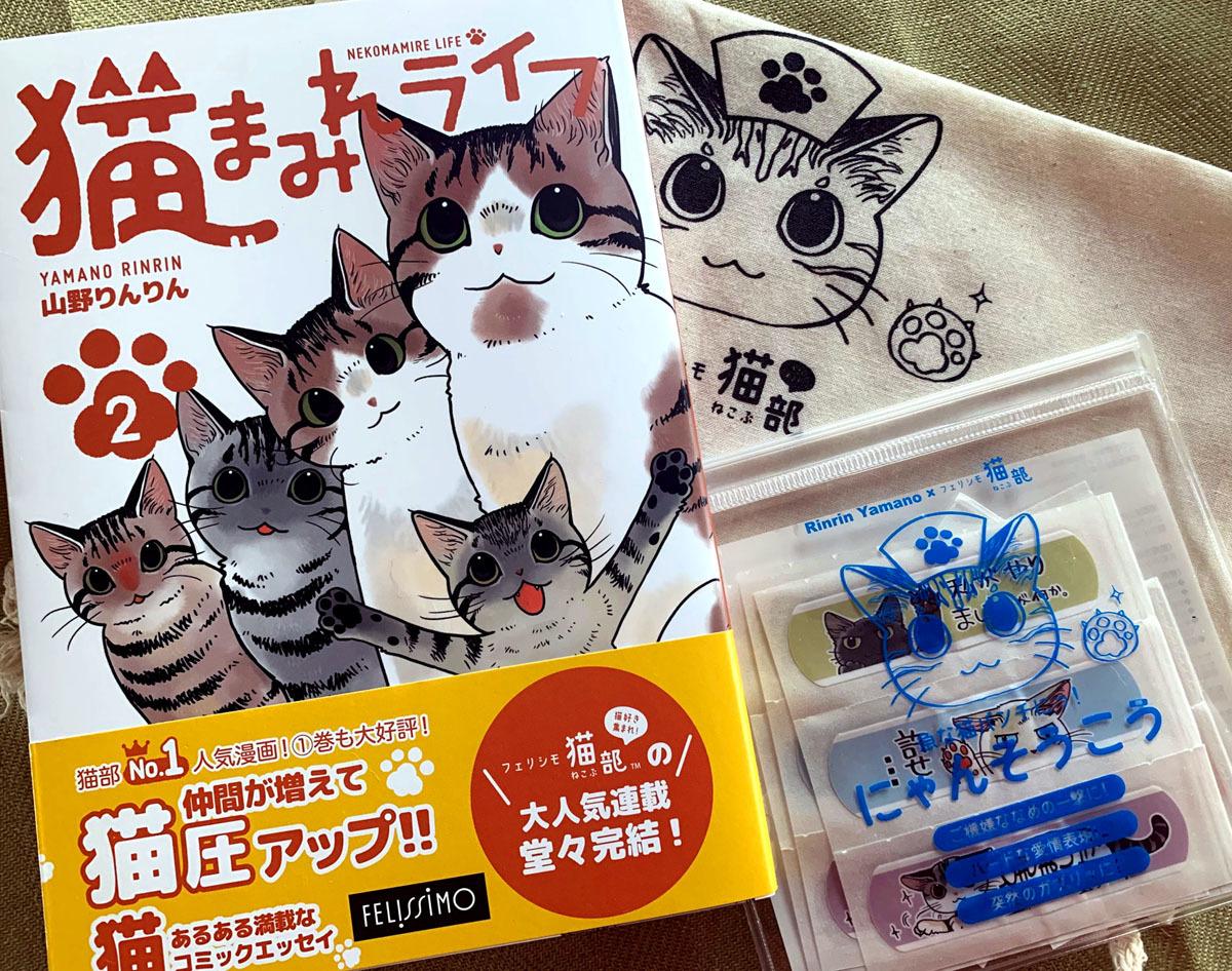 「猫まみれライフ」2巻発売!_d0118933_11091517.jpg