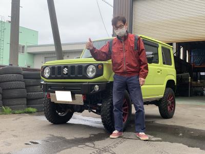 新型ジムニーJB64XC J-upコンプリート納車!_a0143349_23110091.jpg