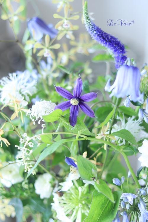 7月Living flowerクラス『初夏の花のグラスアレンジ』_e0158653_16085574.jpg