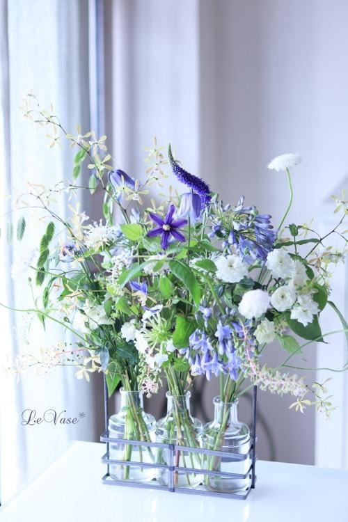 7月Living flowerクラス『初夏の花のグラスアレンジ』_e0158653_16090556.jpg