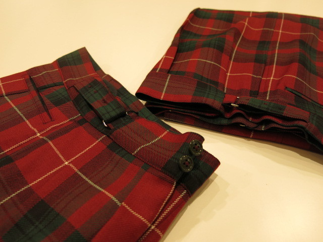 """ANATOMICA ROYAL MARINE PANT CHECK\""ってこんなこと。_c0140560_16320906.jpg"