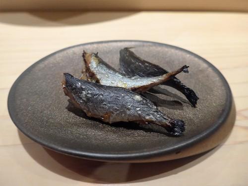 渋谷「熟成鮨 万」へ行く。_f0232060_1394591.jpg