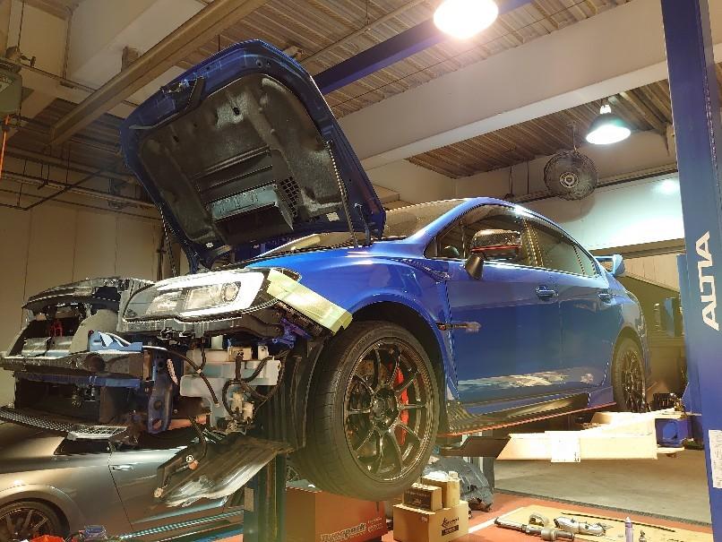 WRX HKS GT3RSターボ!..._a0252579_12403282.jpg