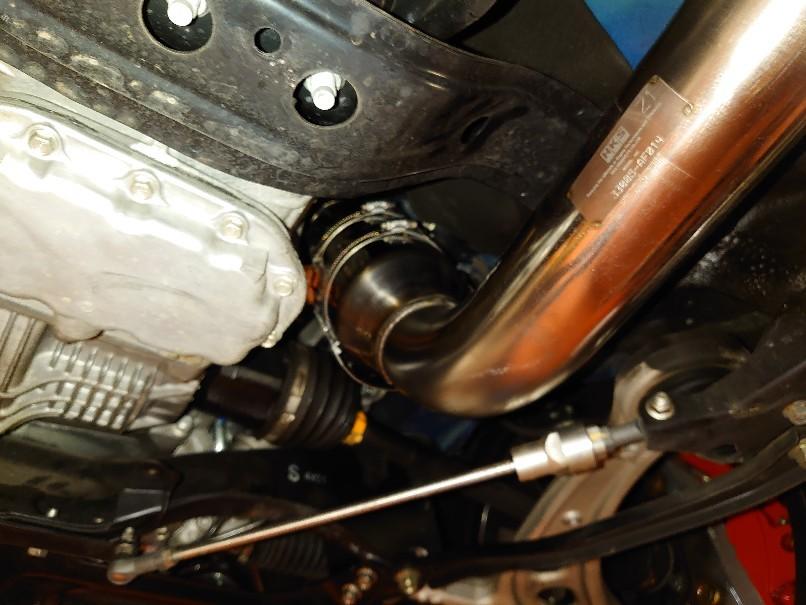 WRX HKS GT3RSターボ!..._a0252579_12454617.jpg
