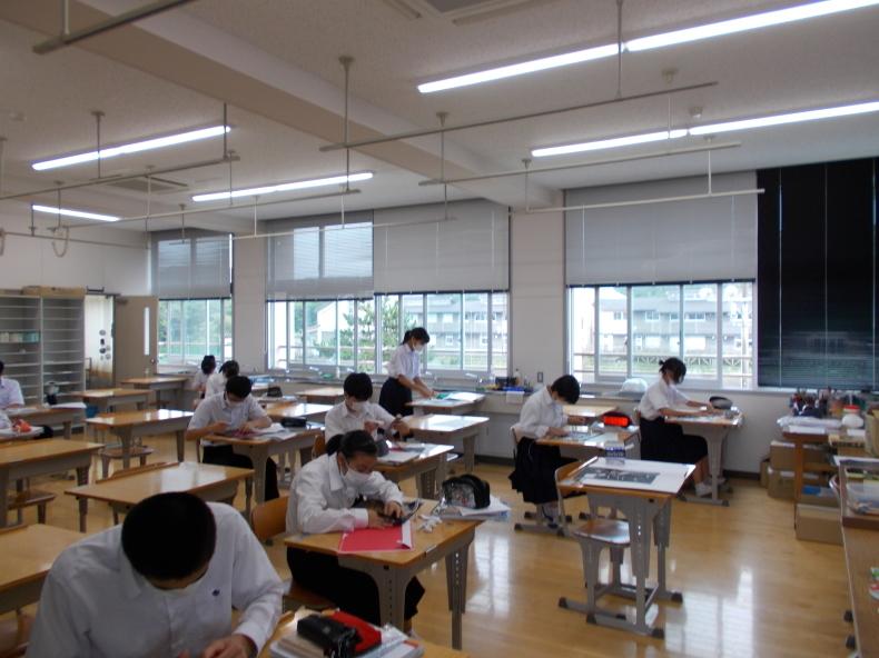 祝日授業 : 大島町立第二中学校