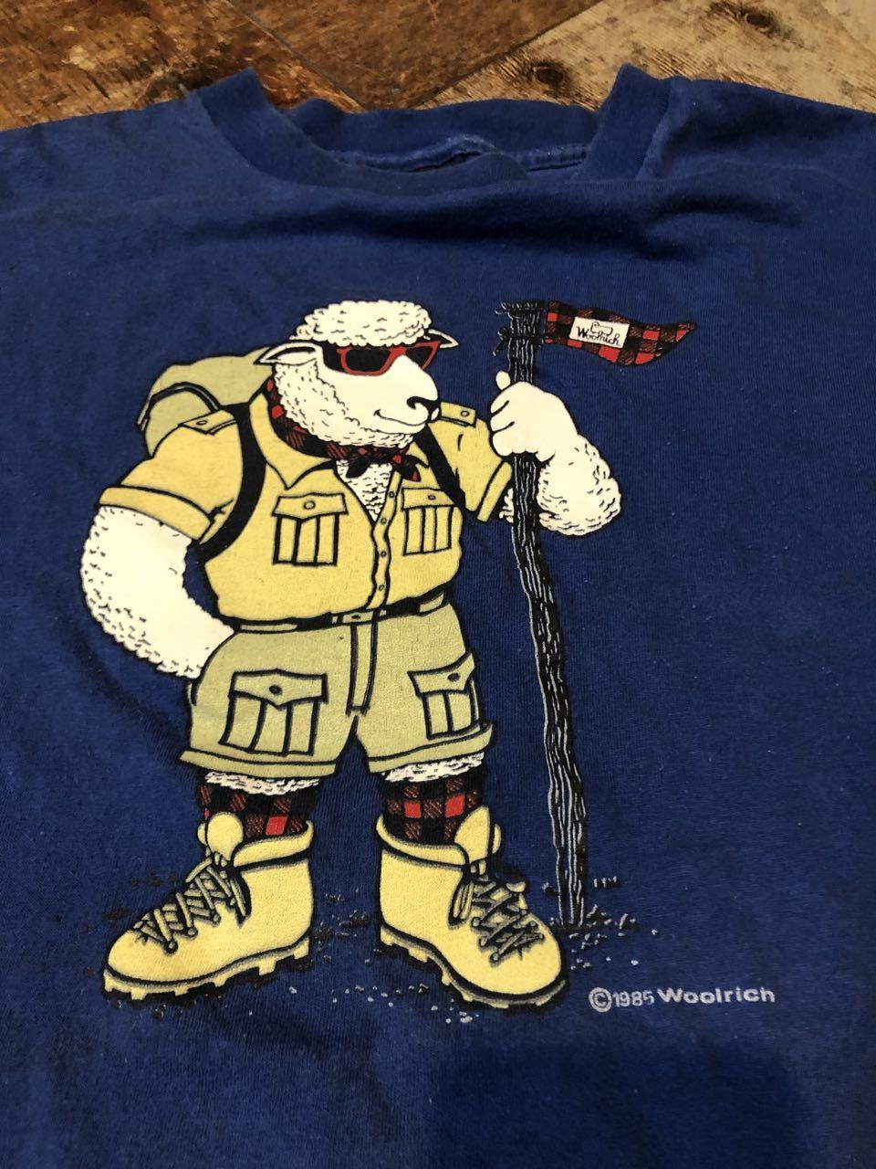 7月24日(金)入荷!80s RARE WOOL RICH Tシャツ!MADE IN U.S.A all cotton 2枚_c0144020_17064289.jpg