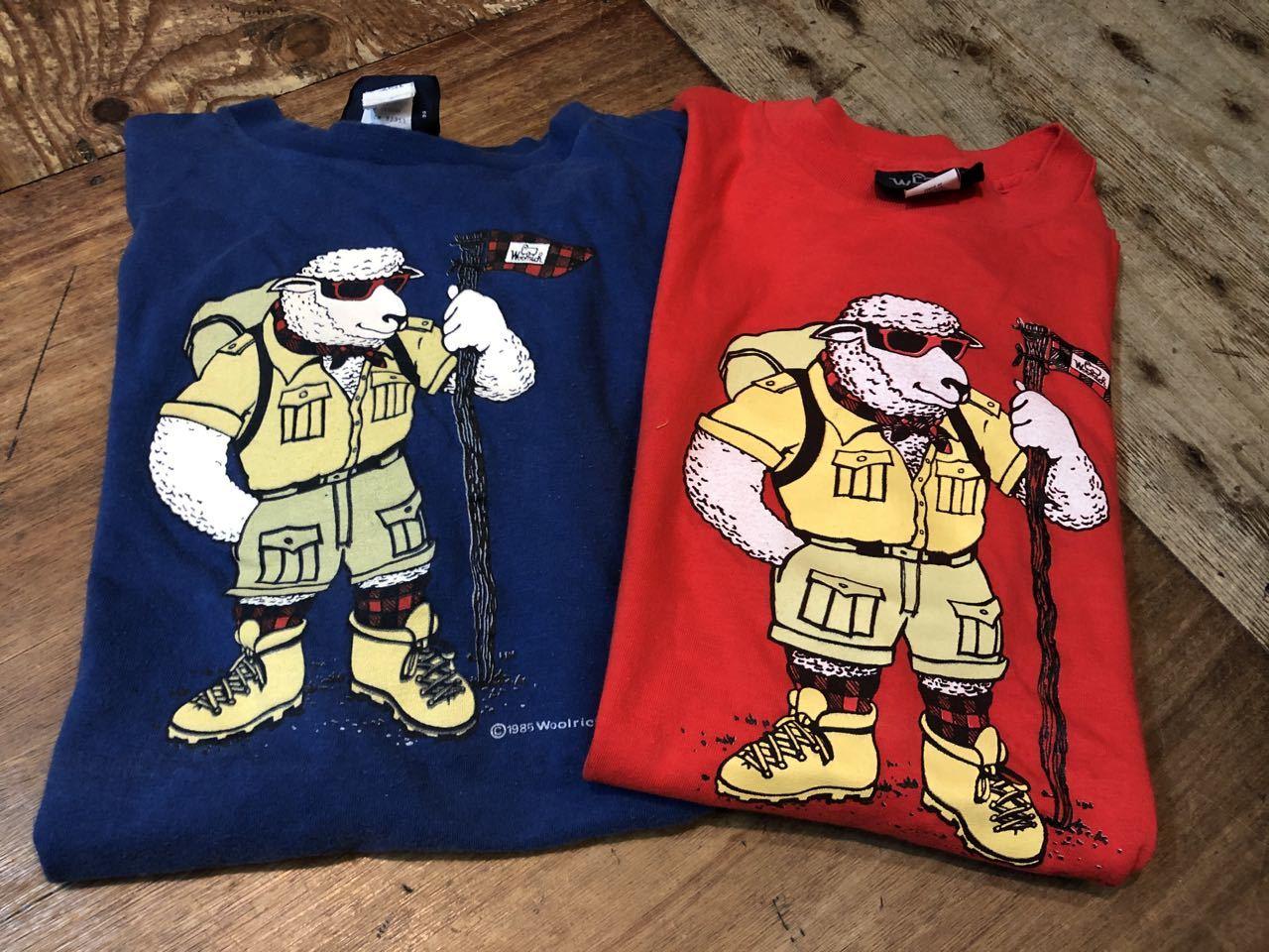 7月24日(金)入荷!80s RARE WOOL RICH Tシャツ!MADE IN U.S.A all cotton 2枚_c0144020_17070495.jpg