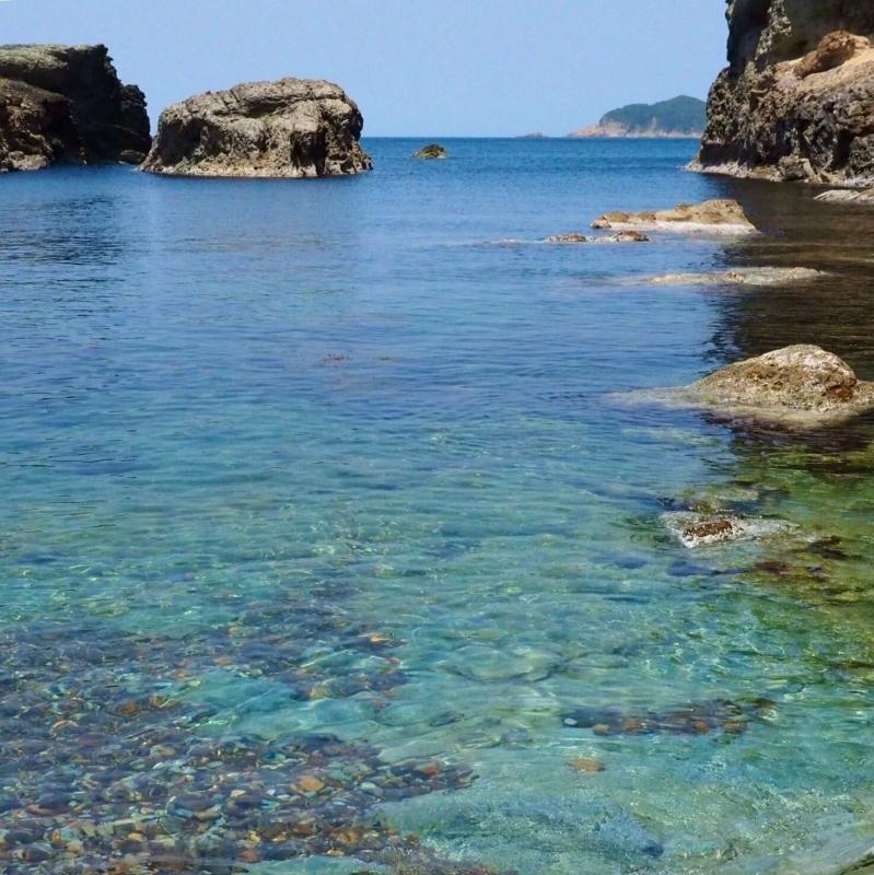 【海で拾った石】 十二石「海」_f0169147_16192303.jpg