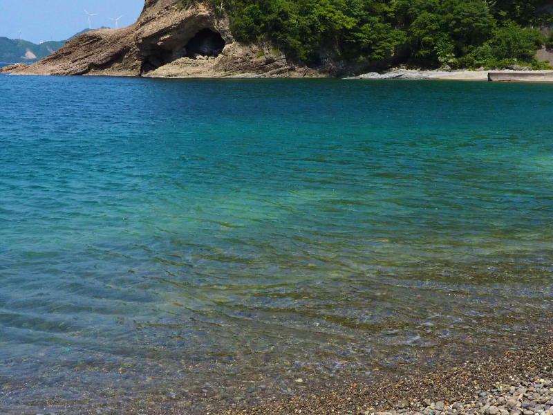 【海で拾った石】 十二石「海」_f0169147_16192802.jpg