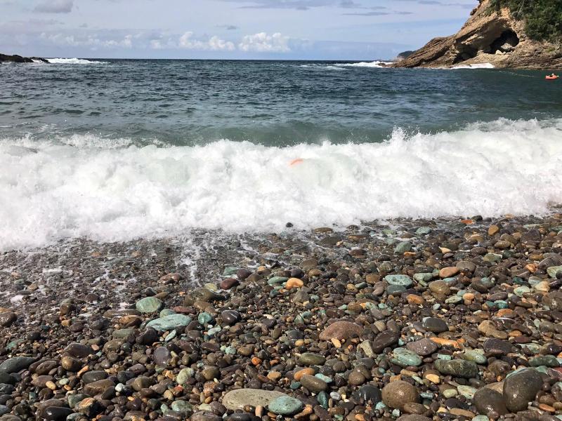 【海で拾った石】 十二石「海」_f0169147_16203897.jpg