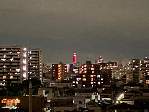 船堀タワーの赤_f0054969_21555712.jpg