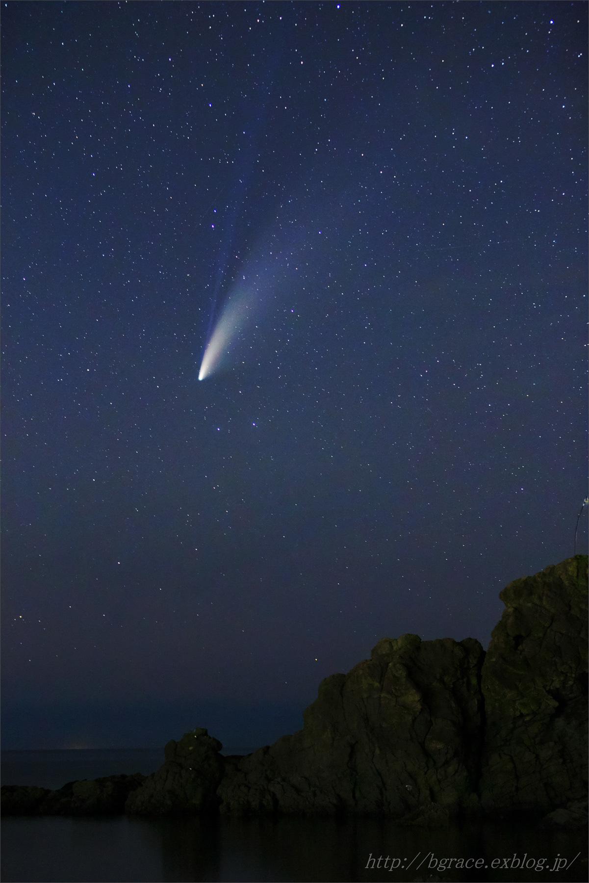 ネオワイズ彗星 (C/2020F3) 7月19日 山形県 Vol.2_b0191074_19294577.jpg