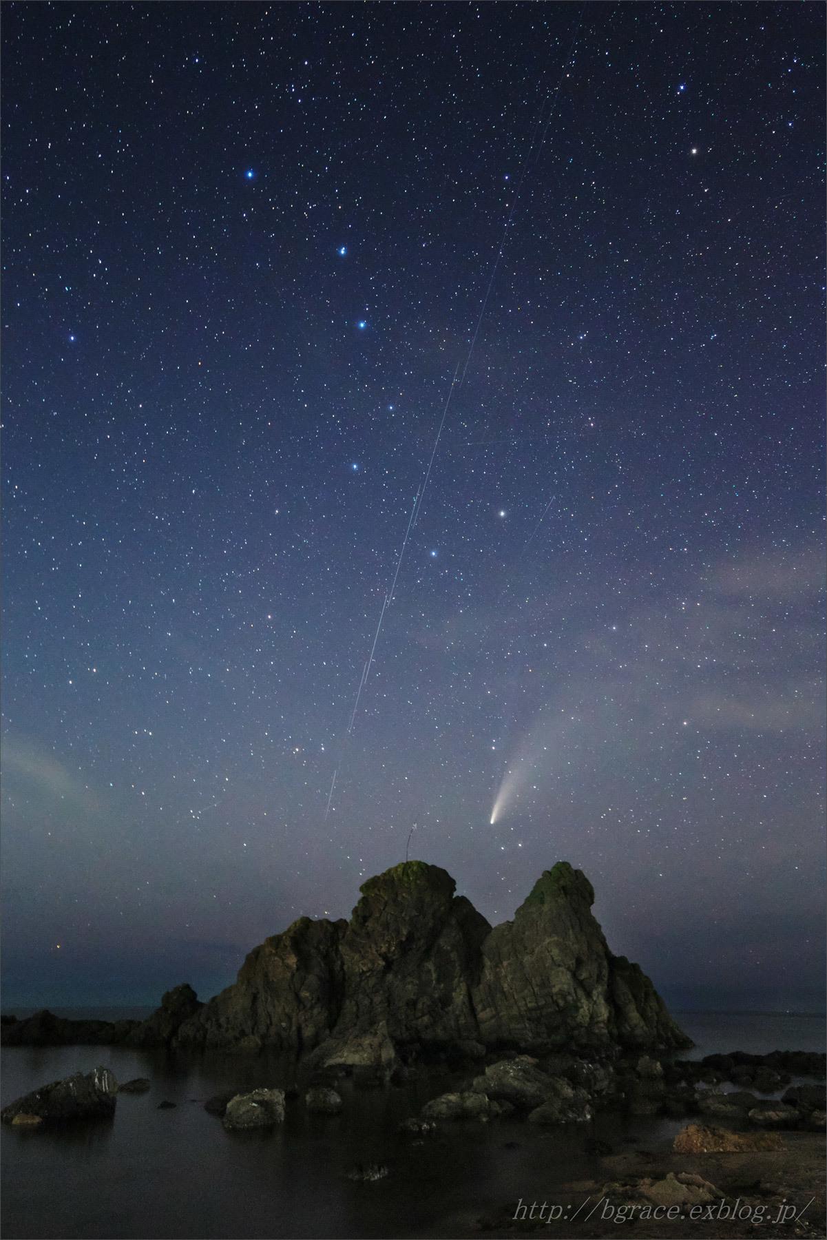 ネオワイズ彗星 (C/2020F3) 7月19日 山形県 Vol.2_b0191074_19295527.jpg