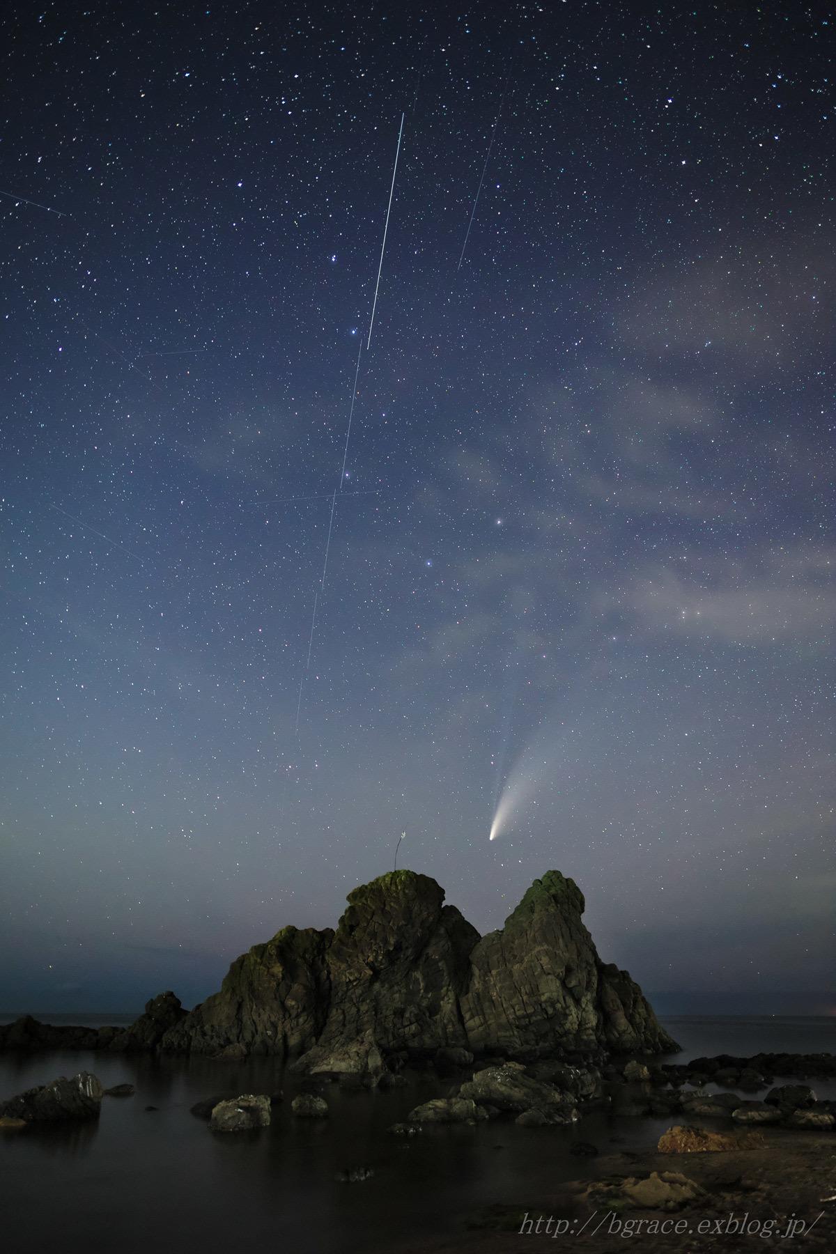 ネオワイズ彗星 (C/2020F3) 7月19日 山形県 Vol.2_b0191074_19300202.jpg