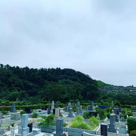鎌倉霊園にご先祖様のお墓参り。_a0112393_12515712.jpg