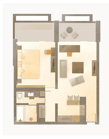 ホテルアナガ 淡路島 バーカウンターのある部屋_e0374912_15222701.jpg