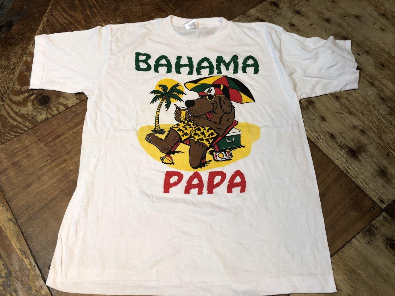 7月25日(土)入荷!BAHAMA PAPA Tシャツ!_c0144020_12511769.jpg