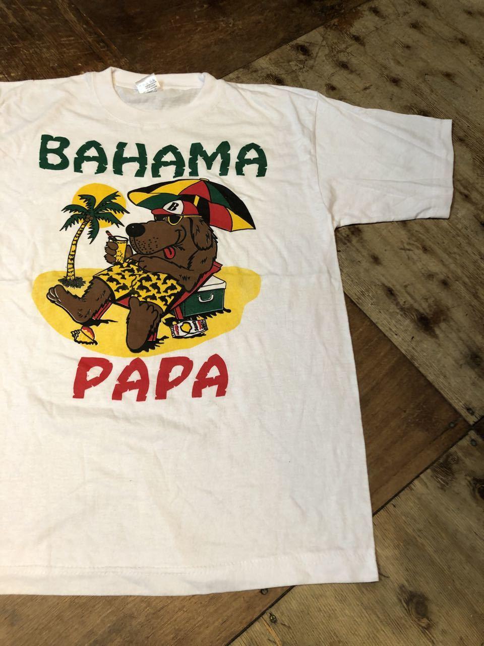 7月25日(土)入荷!BAHAMA PAPA Tシャツ!_c0144020_12512032.jpg