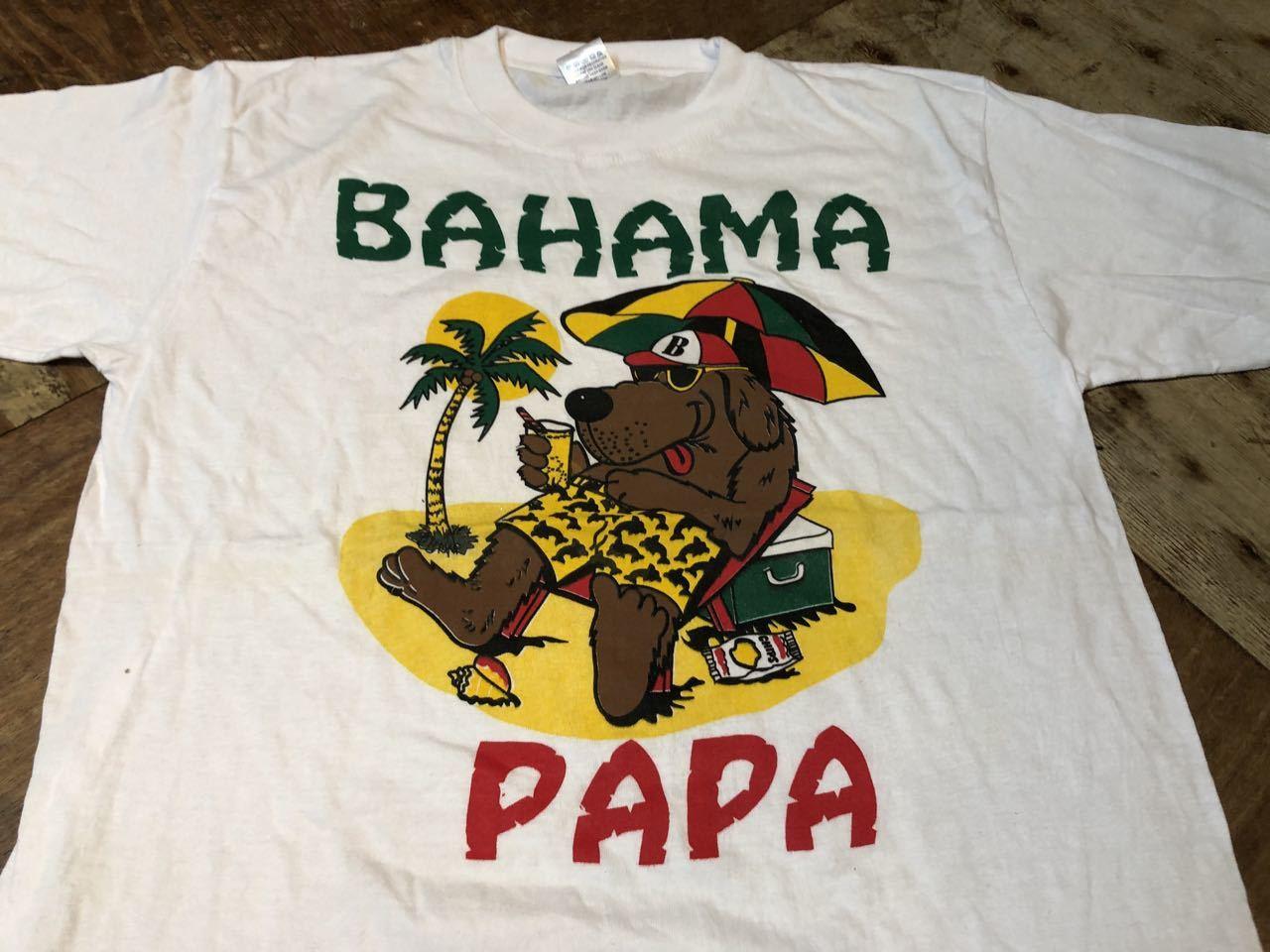 7月25日(土)入荷!BAHAMA PAPA Tシャツ!_c0144020_12512260.jpg