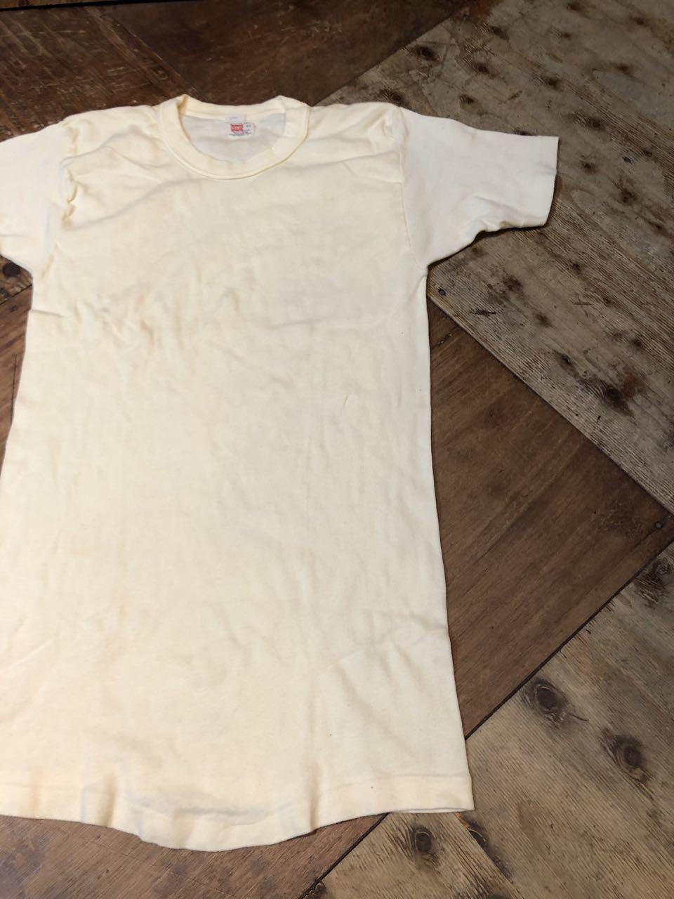 7月25日(土)入荷! 40〜50s all cotton HANES ヘインズ Tシャツ!_c0144020_12550785.jpg