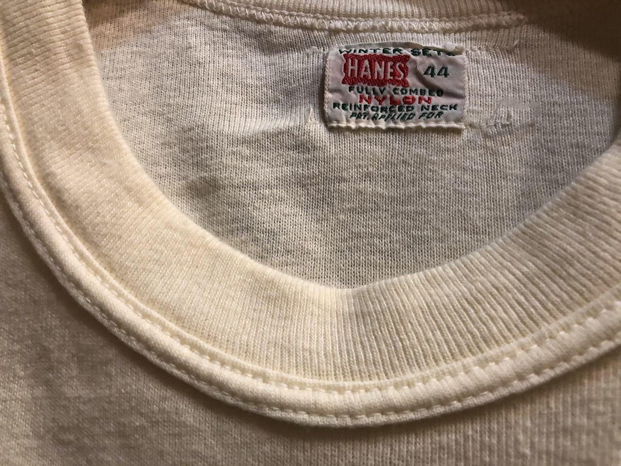 7月25日(土)入荷! 40〜50s all cotton HANES ヘインズ Tシャツ!_c0144020_12554305.jpg