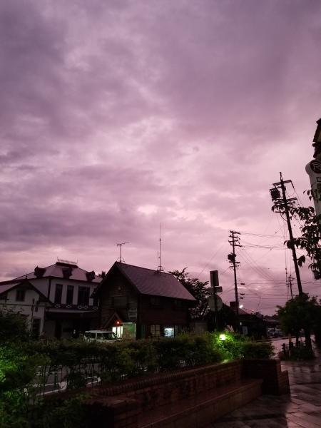 梅雨明け間近? 紫陽花色の空。。。_d0035921_09182582.jpg
