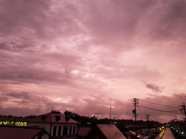 梅雨明け間近? 紫陽花色の空。。。_d0035921_09183372.jpg