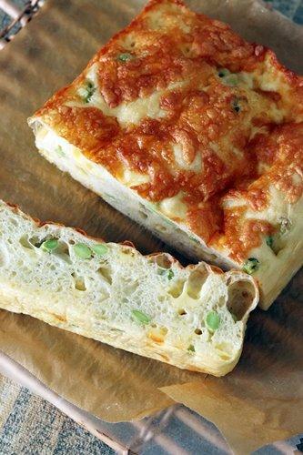 枝豆とチーズの厚焼きフォカッチャ_a0165538_09145312.jpg