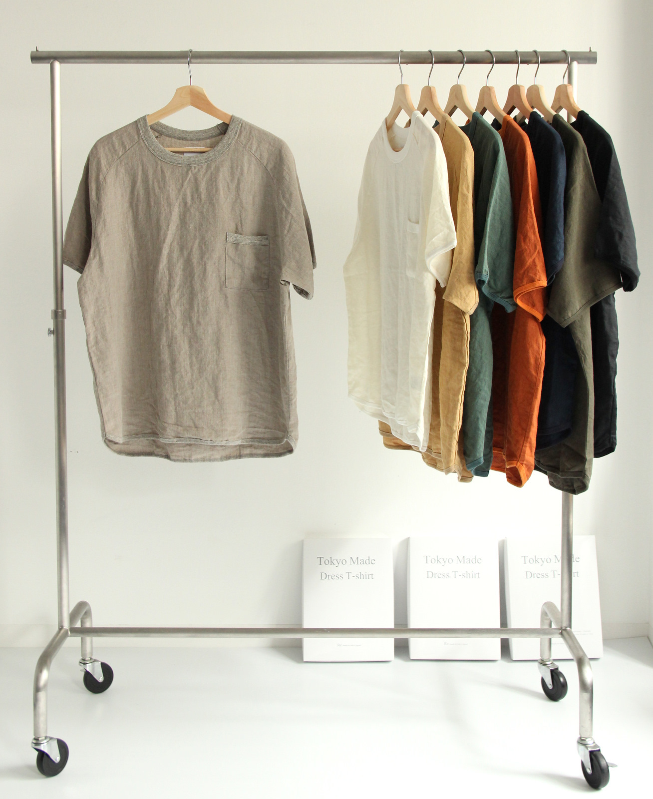 French Linen T-shirt (New Color)_c0379477_19072825.jpg