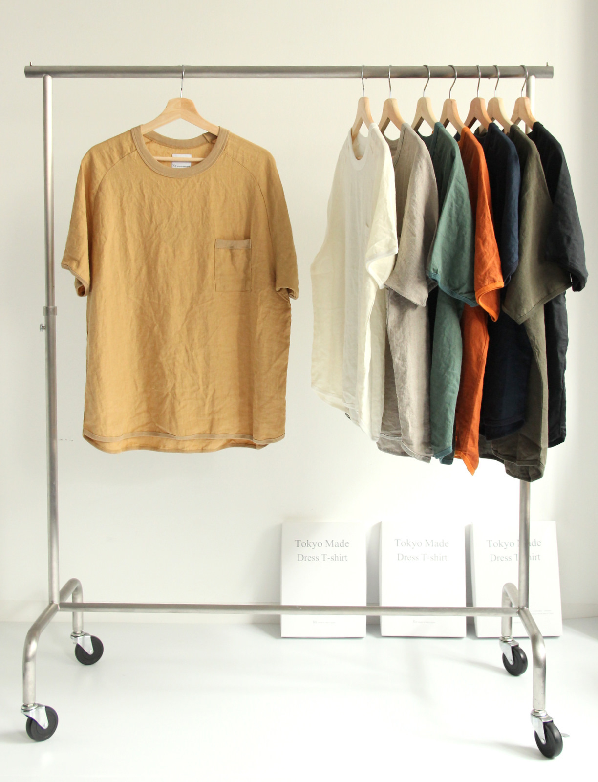 French Linen T-shirt (New Color)_c0379477_19081090.jpg