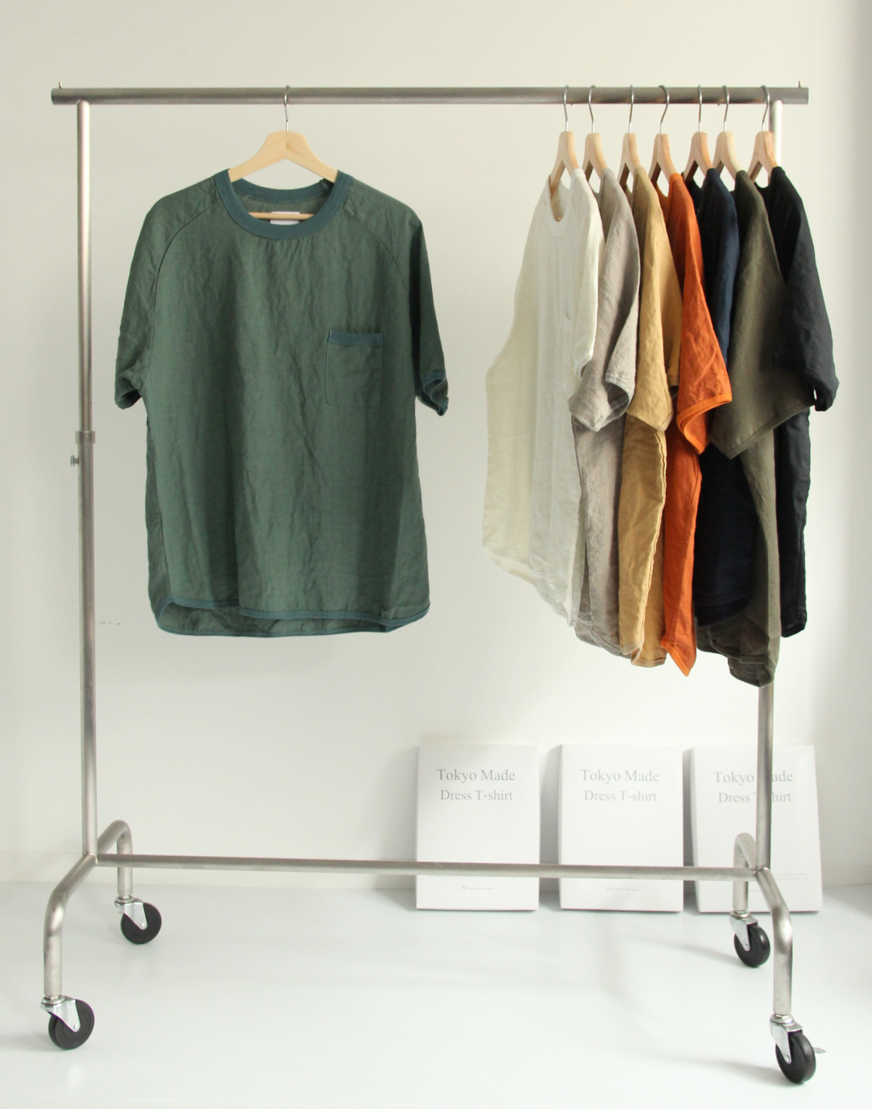 French Linen T-shirt (New Color)_c0379477_19091654.jpg