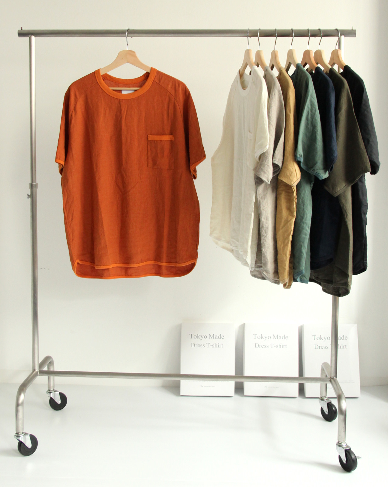 French Linen T-shirt (New Color)_c0379477_19100830.jpg