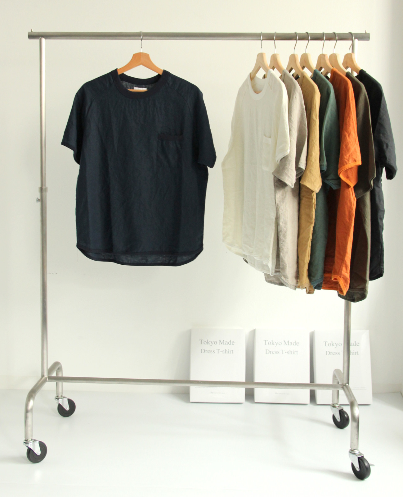 French Linen T-shirt (New Color)_c0379477_19111016.jpg