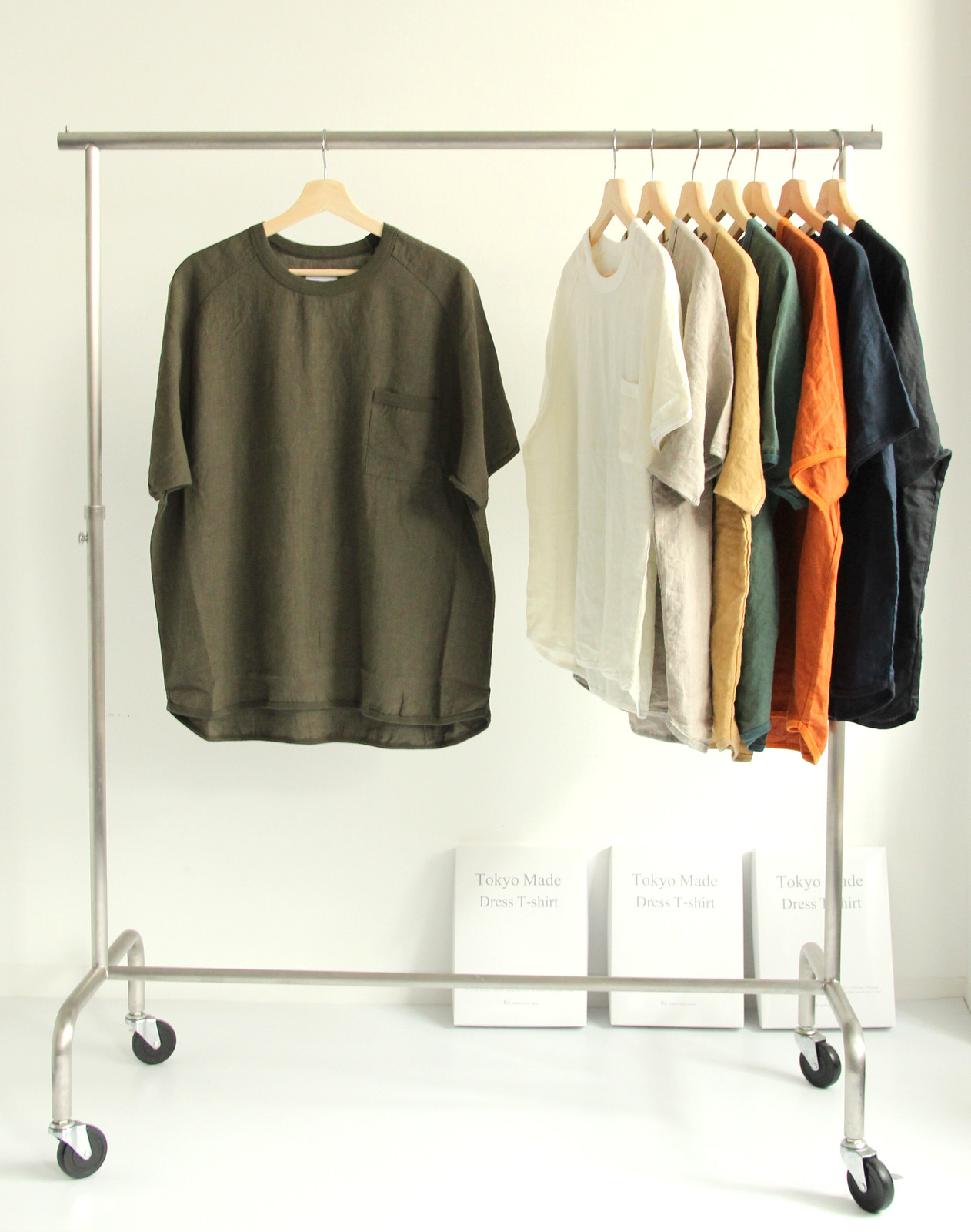 French Linen T-shirt (New Color)_c0379477_19114669.jpg