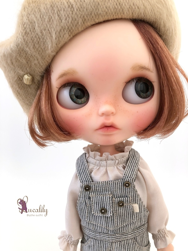 * lucalily * dolls clothes * Overalls set *_d0217189_20422112.jpg