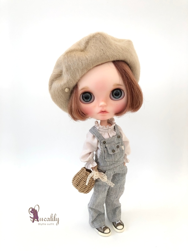 * lucalily * dolls clothes * Overalls set *_d0217189_20422584.jpg