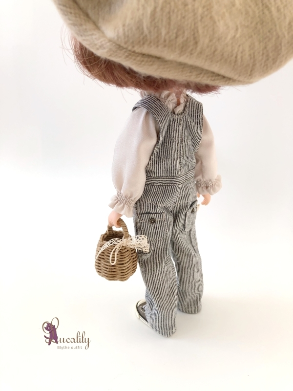 * lucalily * dolls clothes * Overalls set *_d0217189_20423037.jpg