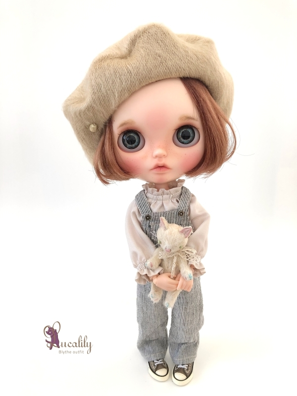 * lucalily * dolls clothes * Overalls set *_d0217189_20423515.jpg
