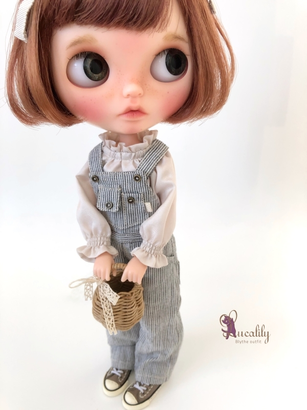 * lucalily * dolls clothes * Overalls set *_d0217189_20423724.jpg