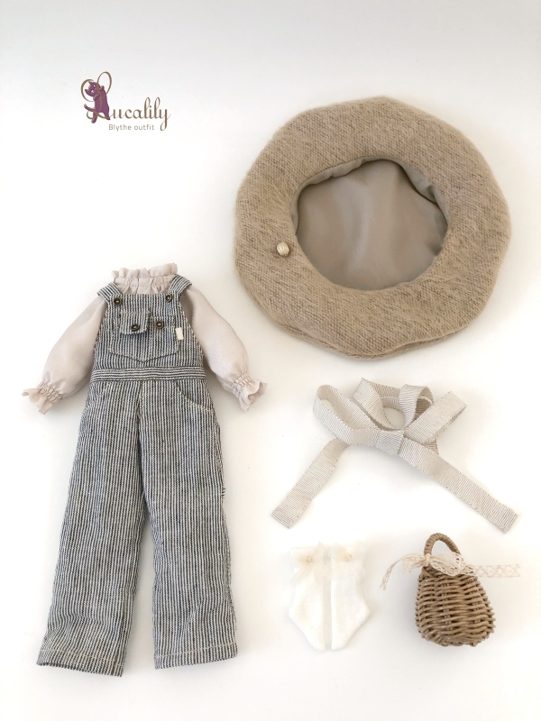 * lucalily * dolls clothes * Overalls set *_d0217189_20424836.jpg