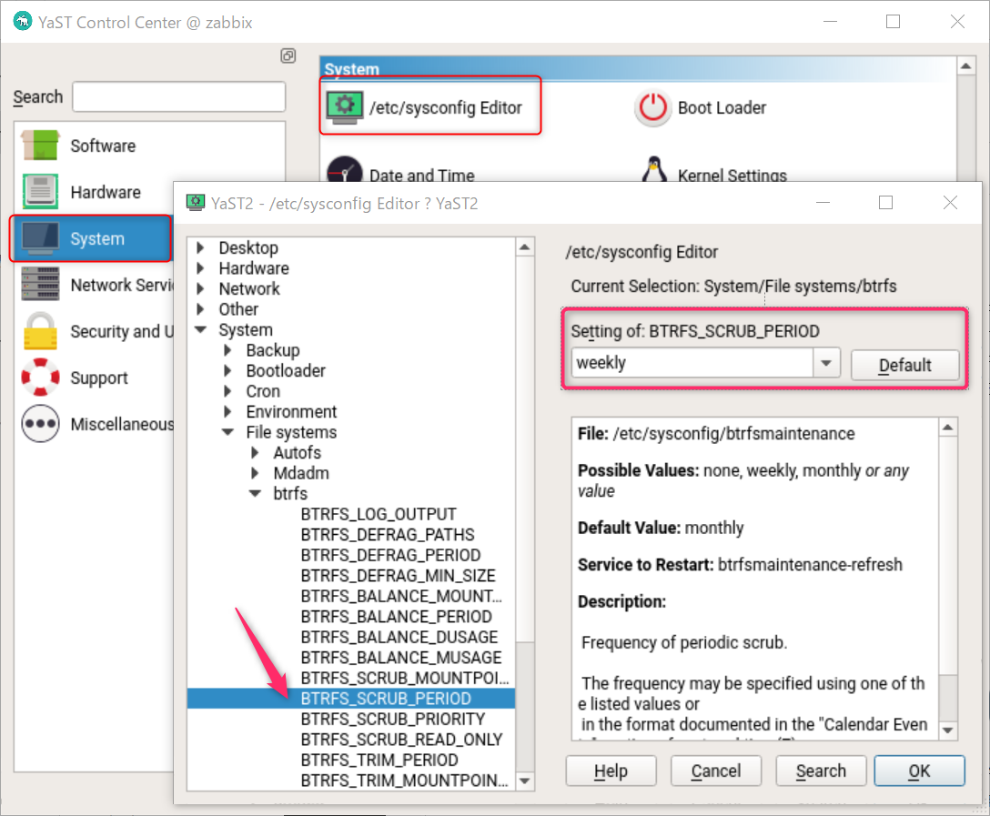 BtrFS の甘い罠、SUSE Linux アップデート前の空き容量の確認と確保_a0056607_13241420.png