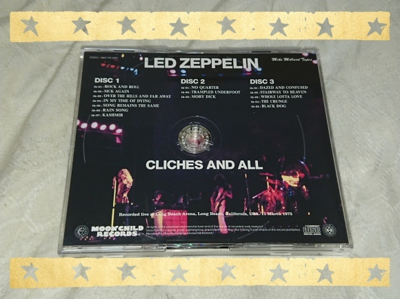 LED ZEPPELIN / CLICHES AND ALL_b0042308_23151358.jpg