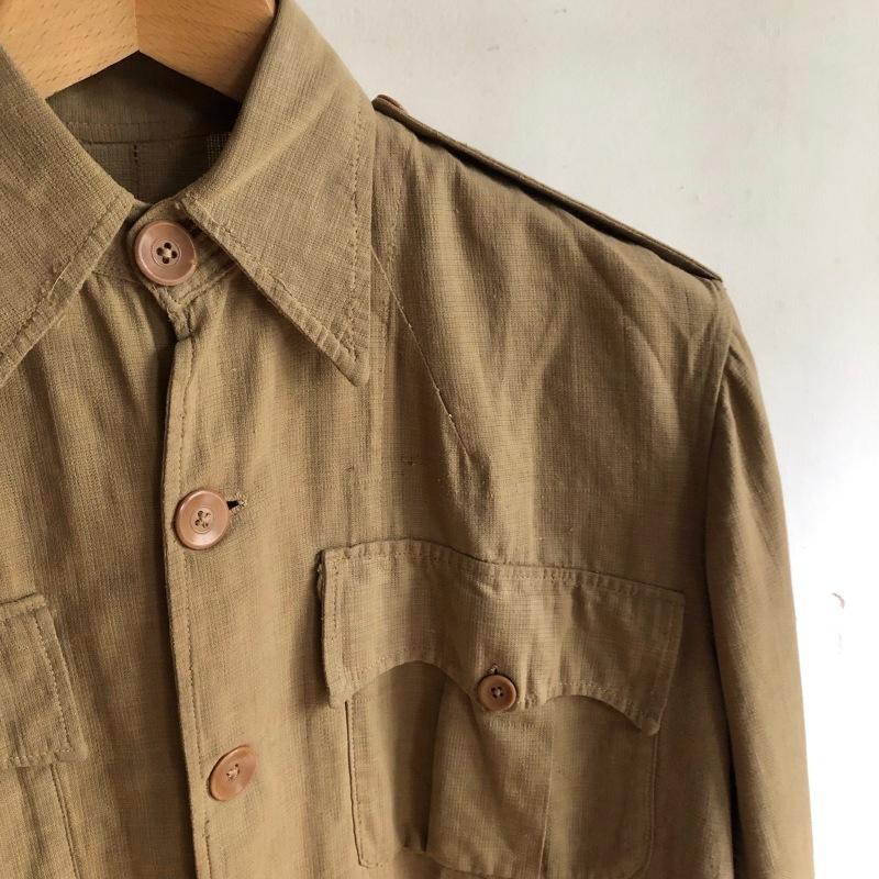 French Military Boro Bourgeron Pants/ British Army Aertex Tunic_f0370108_13260525.jpg
