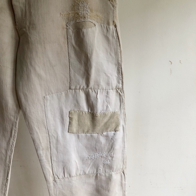 French Military Boro Bourgeron Pants/ British Army Aertex Tunic_f0370108_13262293.jpg