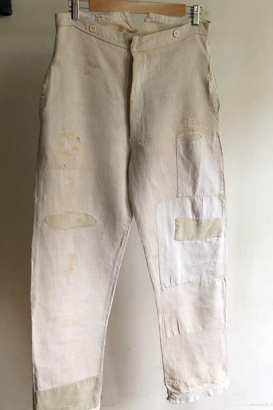 French Military Boro Bourgeron Pants/ British Army Aertex Tunic_f0370108_13262880.jpg