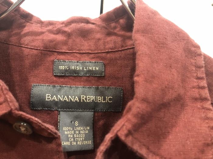 \'\'BananaRepublic\'\' IRISH LINEN  Shirt_b0247211_20202212.jpeg
