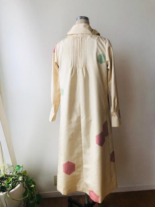着物リメイク・紬の着物からピンタックワンピ2_d0127925_13093910.jpg